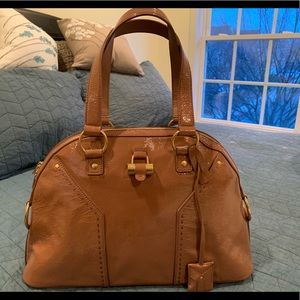 YSL Yves St Laurent Muse Patent Leather Bag 24a60e80b11d4